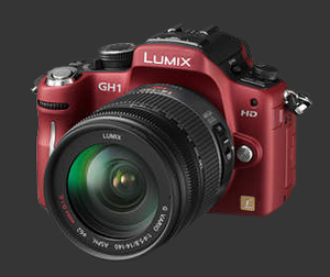 Panasonic GH1 rouge
