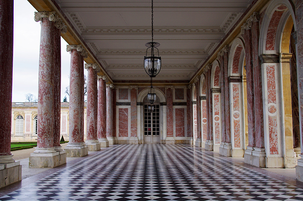 Péristyle du Grand Trianon
