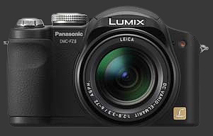 Panasonic FZ8 de face