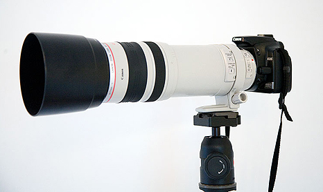 100-400mm trepied