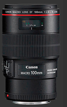 Canon macro100mm L is usm