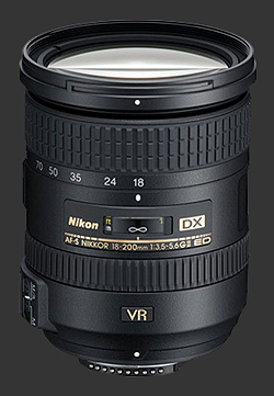 Nikon 18-200 VR version II