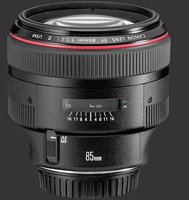 canon 85mm f/1.2