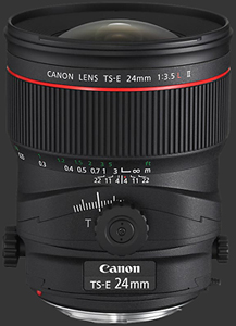 Canon objectif Tse L 24mm