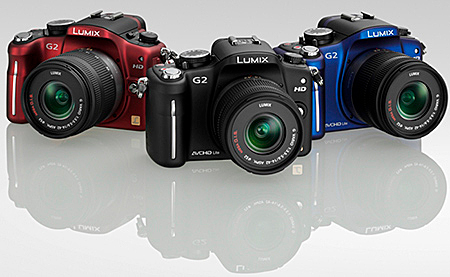 couleurs du panasonic G2