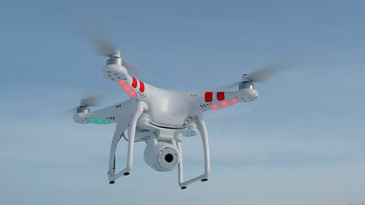 Phantom 2 Vision en vol
