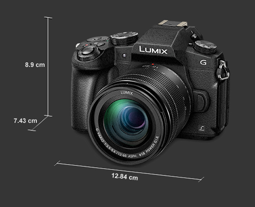 Panasonic DMC-G80 dimensions